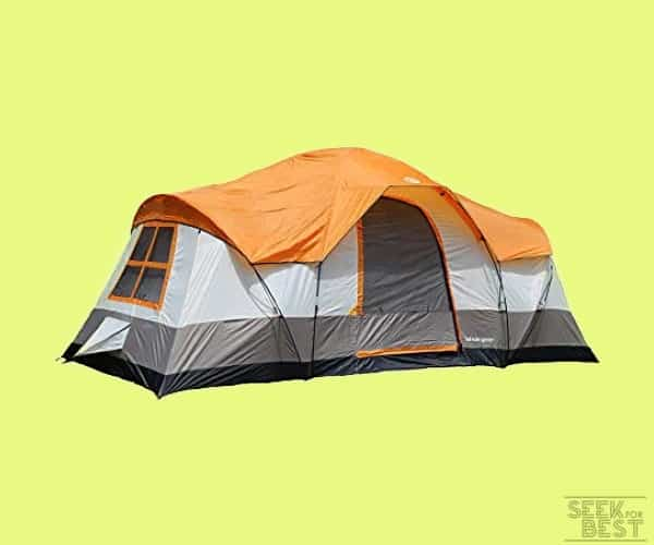 #5 Tahoe Gear Olympia Family Camping Tent