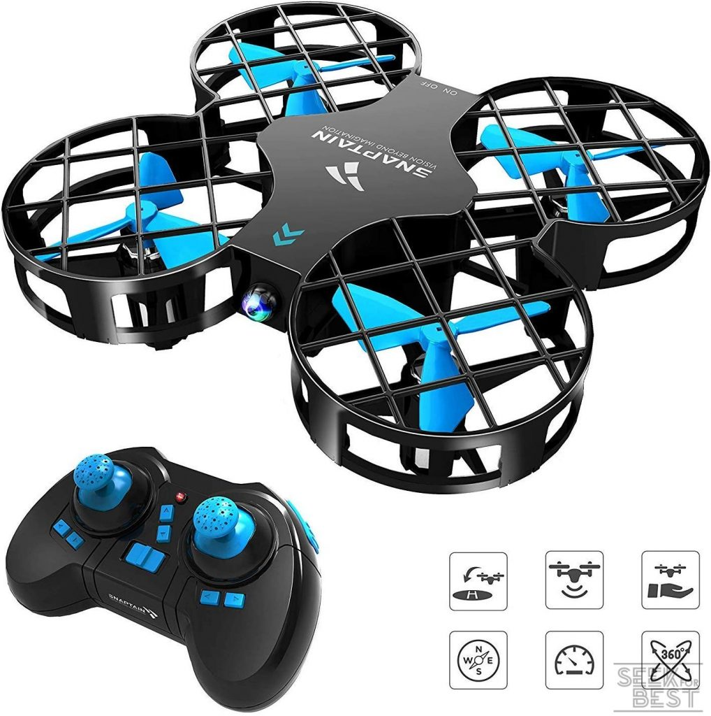 6. SNAPTAIN H823H Mini Drone for Kids
