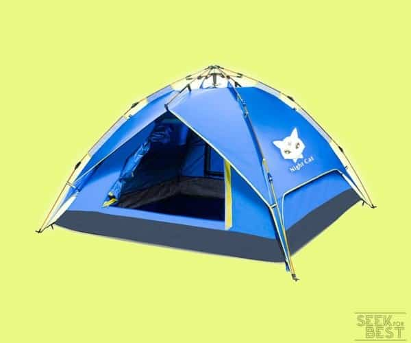 Night Cat 4-Person Camping Tent