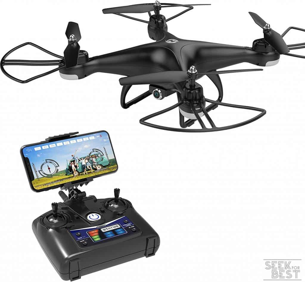 7. Holy Stone HS110D FPV RC Drone