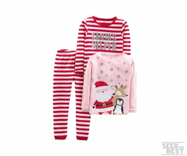 1. Simple Joys by Carter's Baby - Christmas Pajama Set