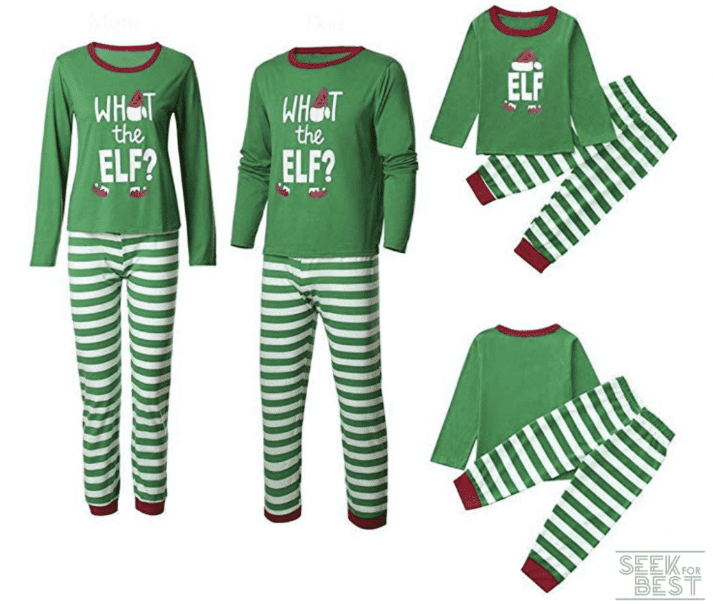 30.Mari Cias Matching Family Christmas Pajamas Set