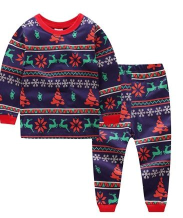 12.Baby House Toddler Christmas Pajama