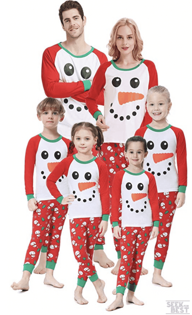 23. shelry Family Matching Pajamas for Christmas