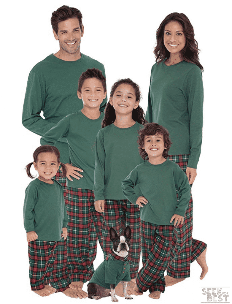 3. PajamaGram Family Pajamas Matching Sets