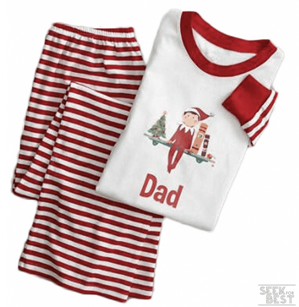 34. Epsion Cotton Winter Sleepwear Christmas Family Pajamas Set