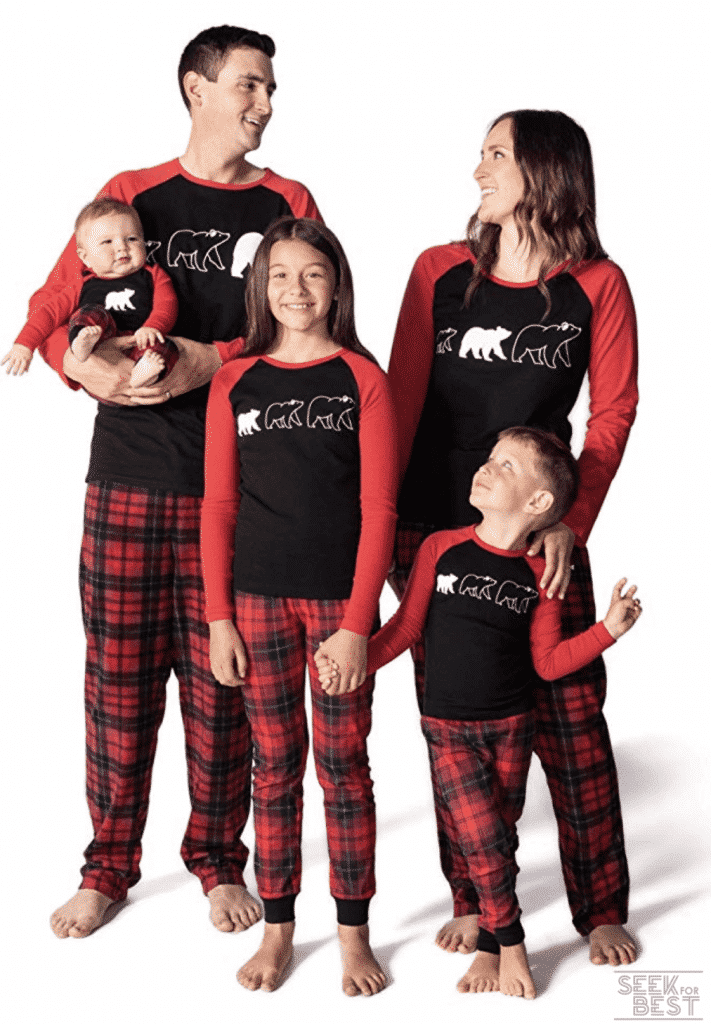4. JumpOff Jo Matching Family Pajamas Set