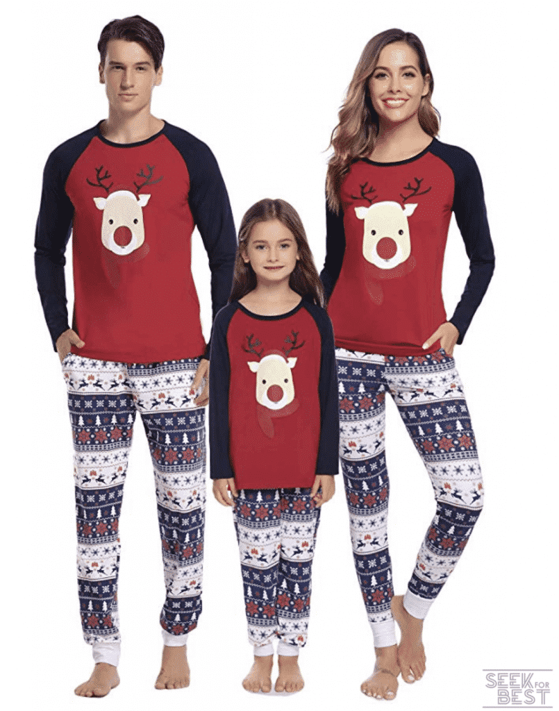 35.Hawiton Family Christmas Pajamas Set