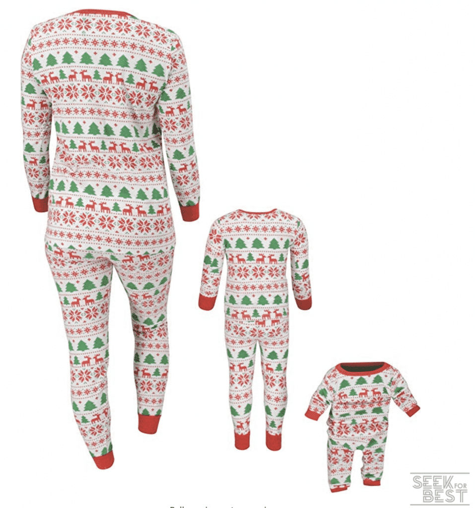 17. Unique Baby Christmas Family Pajama
