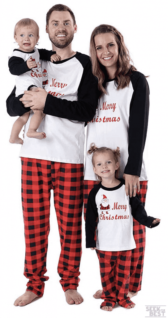 27. Etosell Christmas Family Pajama Set