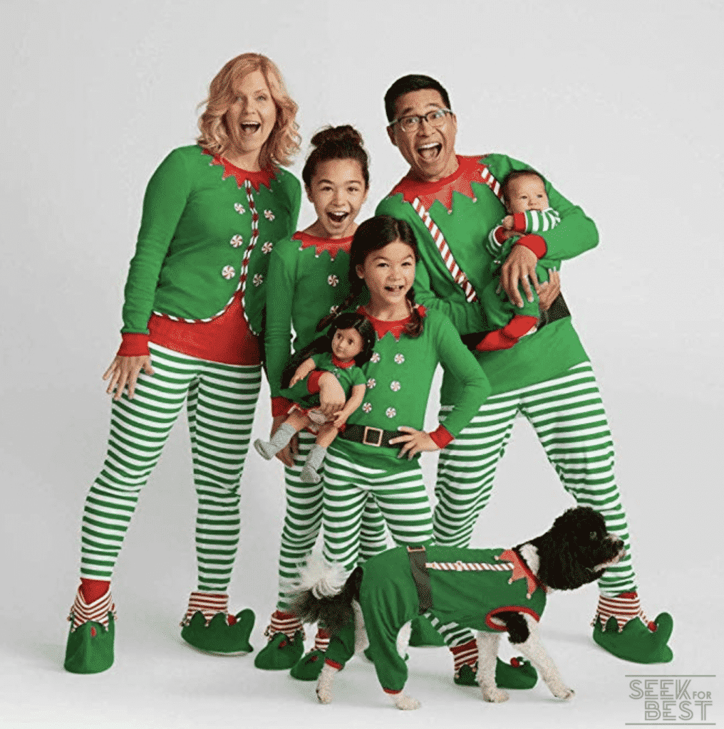 28. Sinwo Family Christmas Pajamas Set