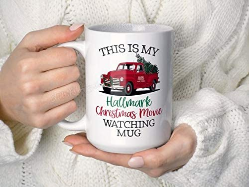 This Is My Hallmark Christmas Movie Watching Mug