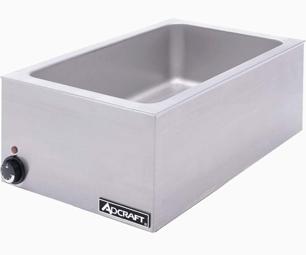 1. Adcraft FW-1200W Full-Size Countertop Food Warmer