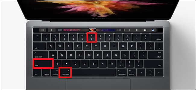 How to Take a Screenshot of the Touch Bar
