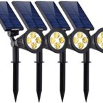 VicTsing Solar Spot lights, The Third Generation