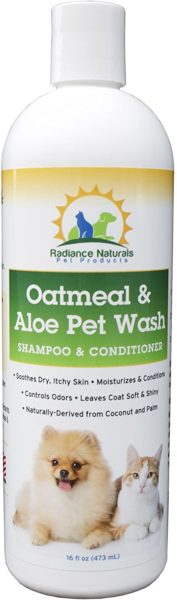 12. Radiance Naturals Oatmeal and Aloe Shampoo