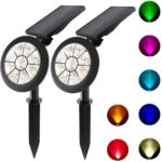 Lepord 2 S ETS 7 LED Solar Spot lights Outdoor Solar Lights