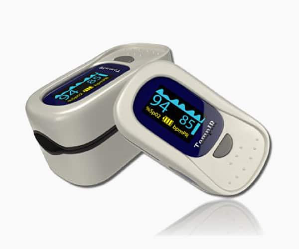 TempIR  Finger Pulse Oximeter Deluxe Model Digital