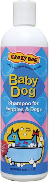 13. Crazy Dog Baby Dog Shampoo
