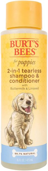 2. Puppy Tearless 2 in 1 Shampoo by Burt's Bees