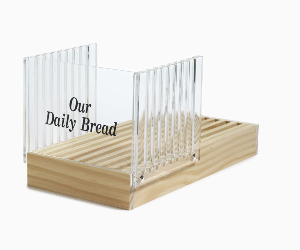 2. Norpro Bread Slicer with Crumb Catcher