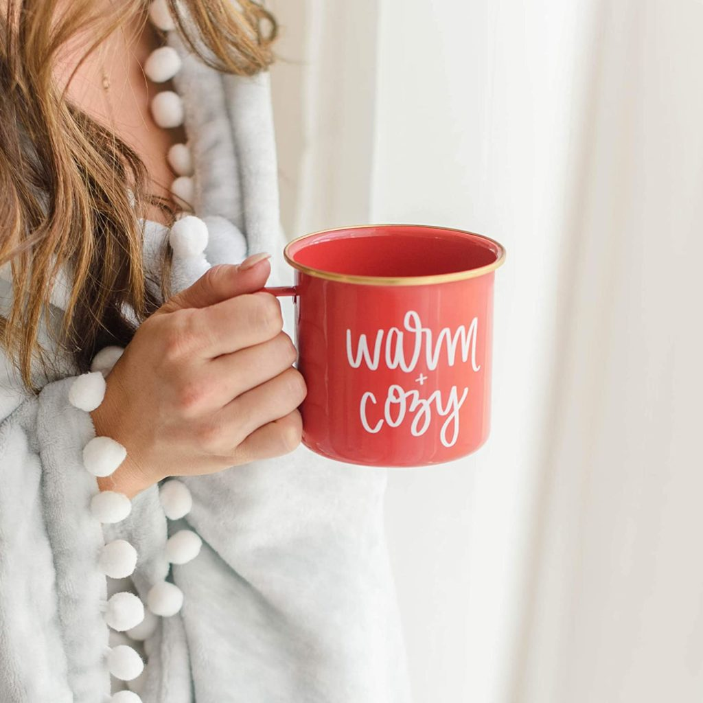 Sweet Water Decor Merry and Bright Campfire Mug