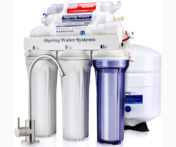 2. iSpring RCC7AKBest Cheap Water Softener/Filter System