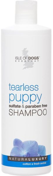 3. Tearless Puppy Shampoo by Isle of Dogs