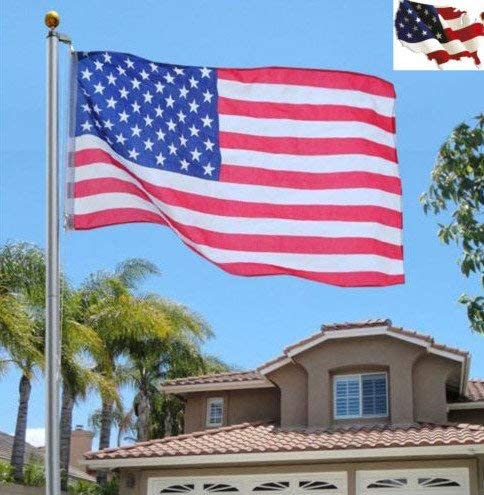 4. WindStrong® 25 FT Heavy Duty Residential Flag Pole Complete Set