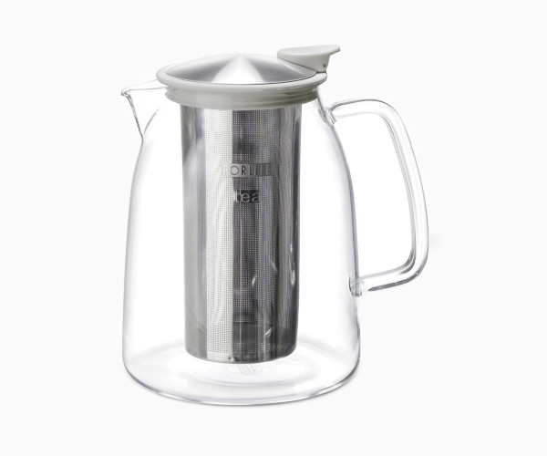 4. FORLIFE Mist Iced Tea Jug with Basket Infuser, 68 Ounce
