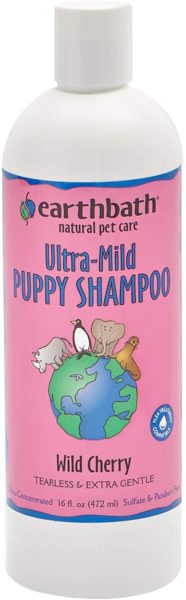 4. All Natural Ultra-mild Puppy Shampoo by Earthbath