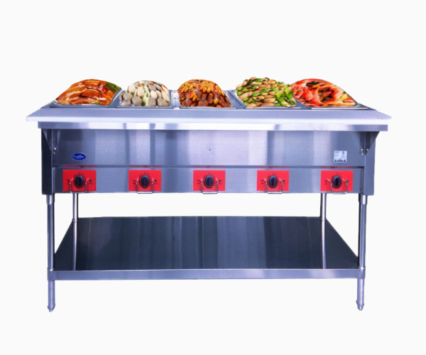 6. Atosa Commercial Food Warmer Table