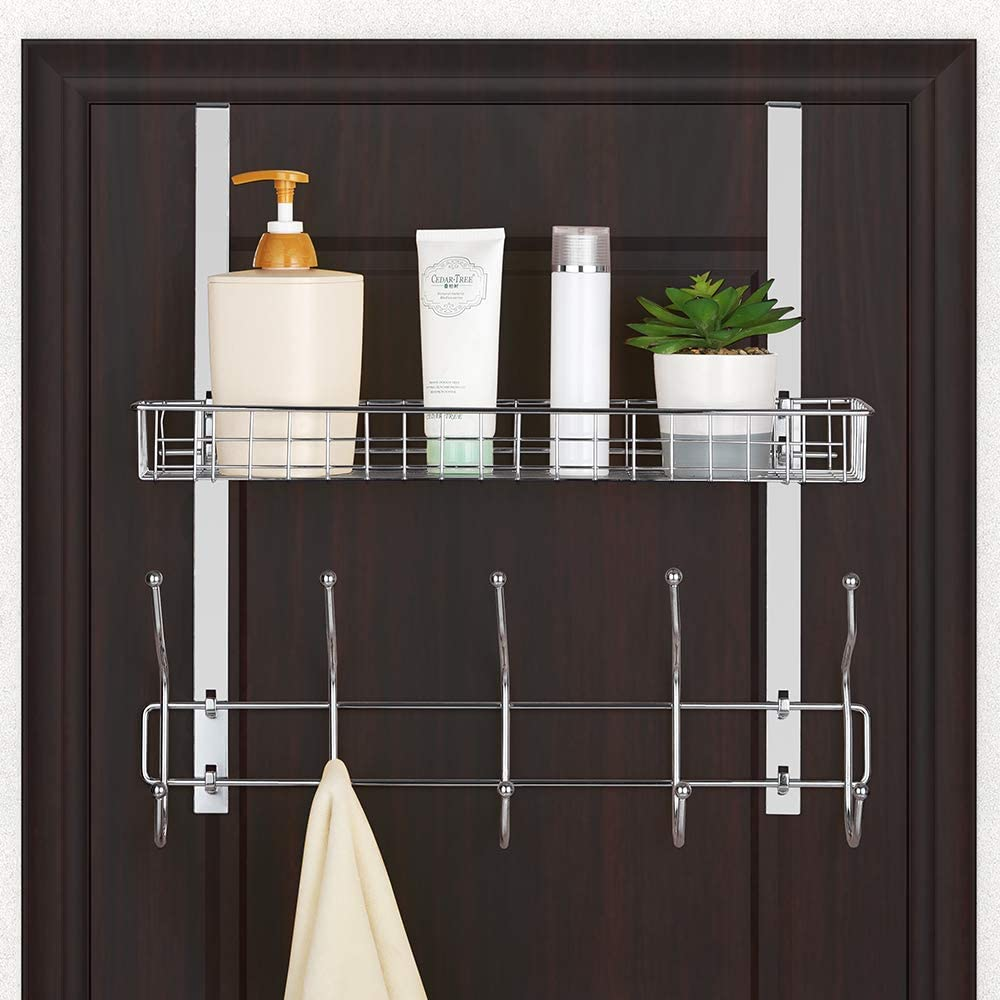 6. NEX Hook Shelf Organizer