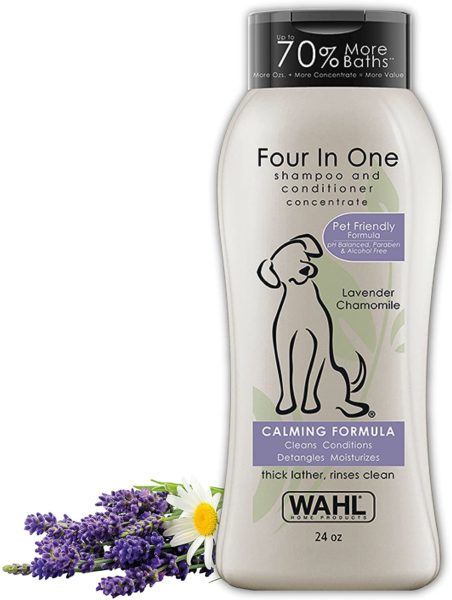 7. Wahl's Flea and Tick Shampoo