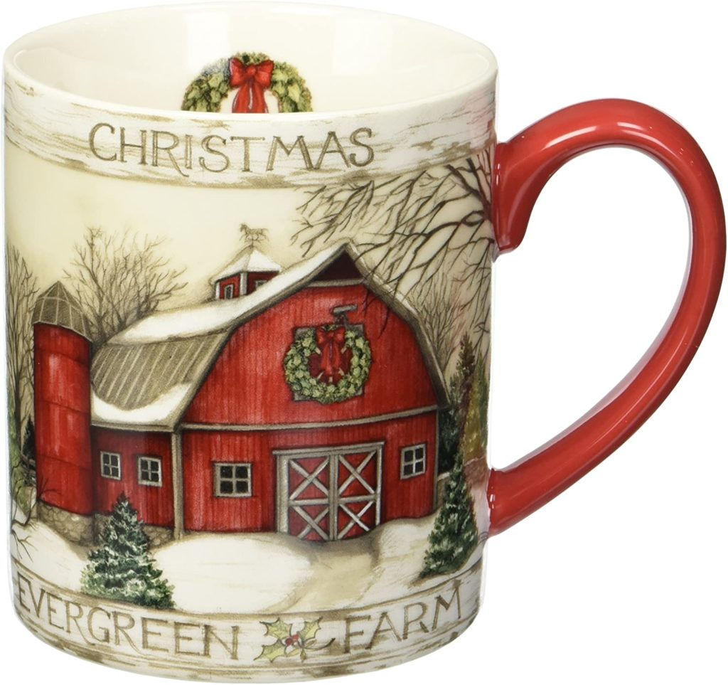 Lang Evergreen Farm Mug by Susan Winget