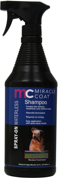 9. Miracle Coat Dog Spray-On Shampoo
