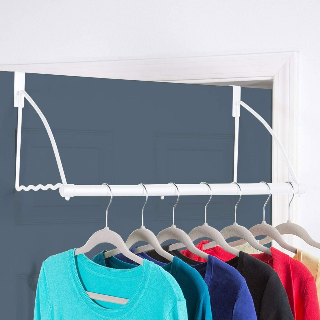 9. Hold N Storage Door Closet Valet