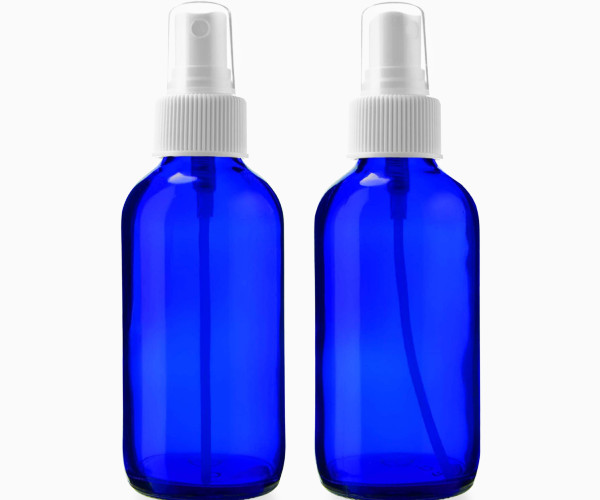Sally's Organics 4 oz Blue Spray Bottles