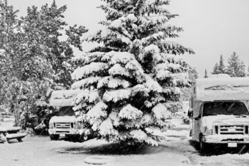 How to stay warm in my RV when it's freezing outside?