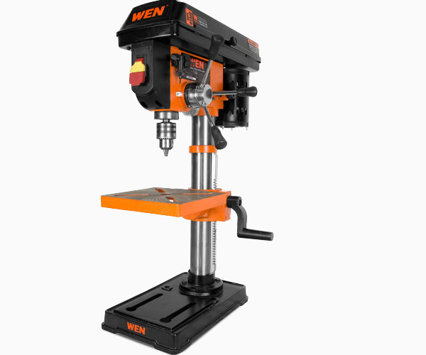 6. WEN 4210T 10-Amp, 12-Rate Floor Standing upright Drill Press
